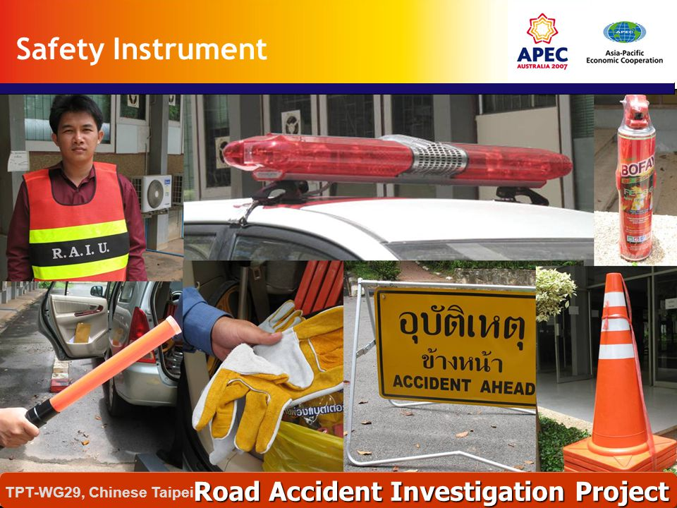 Safety Instrument Road Accident Investigation Project