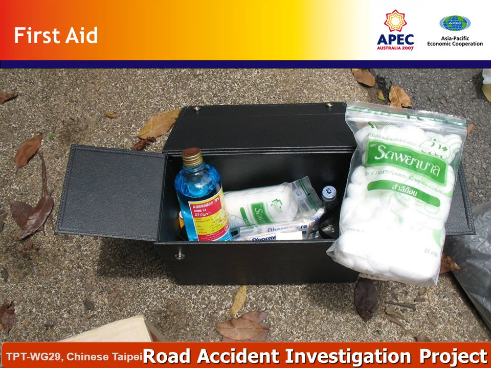 First Aid Road Accident Investigation Project TPT-WG29, Chinese Taipei