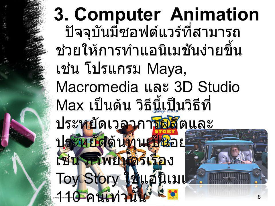 3. Computer Animation