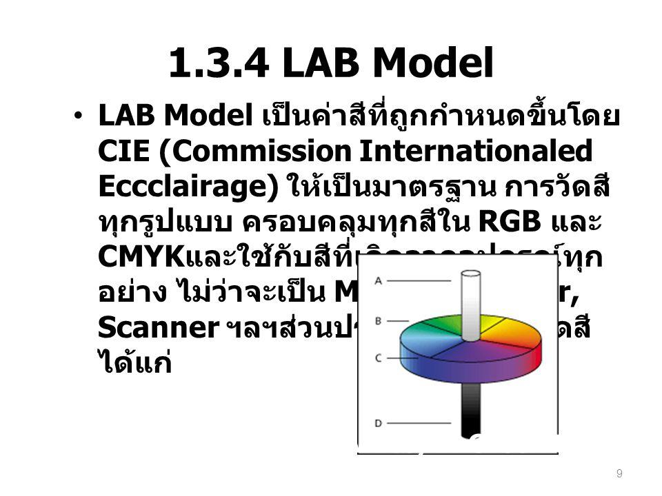 1.3.4 LAB Model