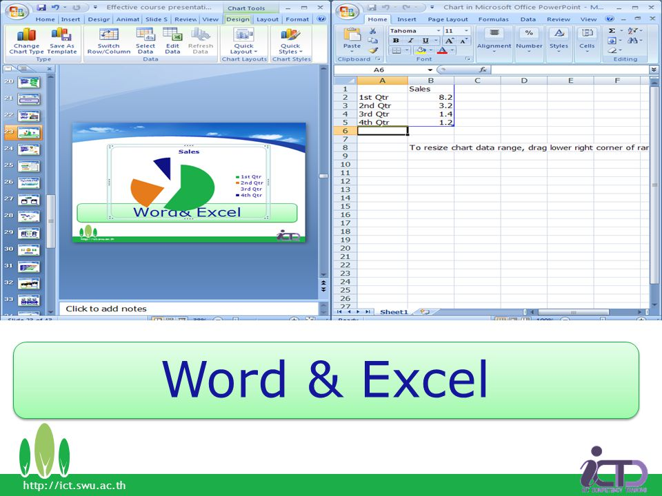 Word & Excel http://ict.swu.ac.th