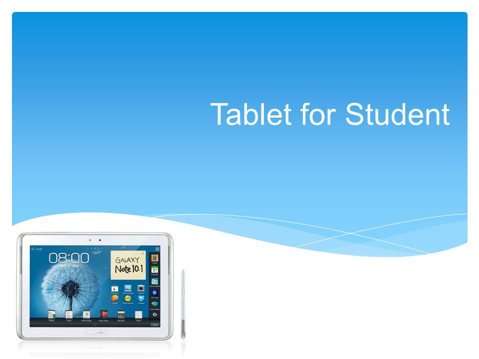 Tablet for Student