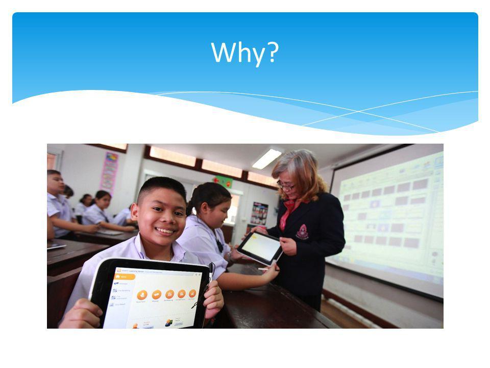 Why ทำไมต้องมีโครงการ Smart Classroom