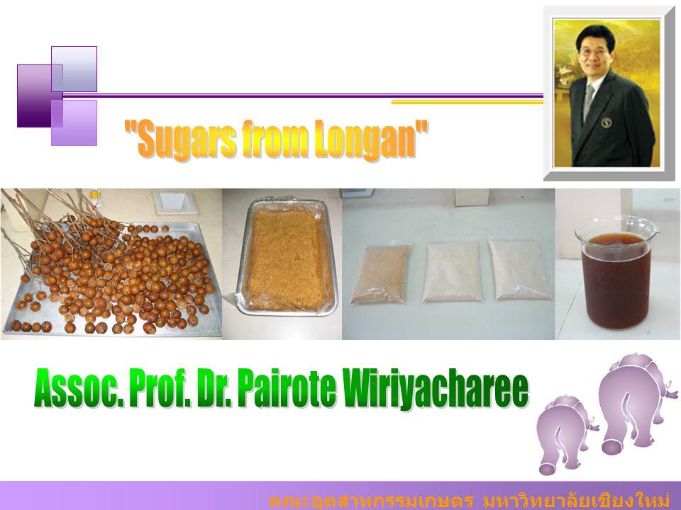 Assoc. Prof. Dr. Pairote Wiriyacharee