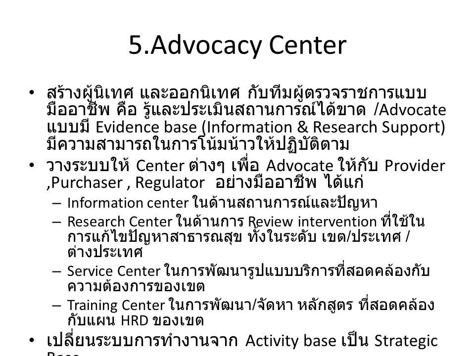 5.Advocacy Center