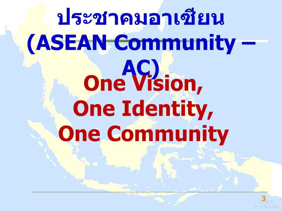 ประชาคมอาเซียน (ASEAN Community – AC)