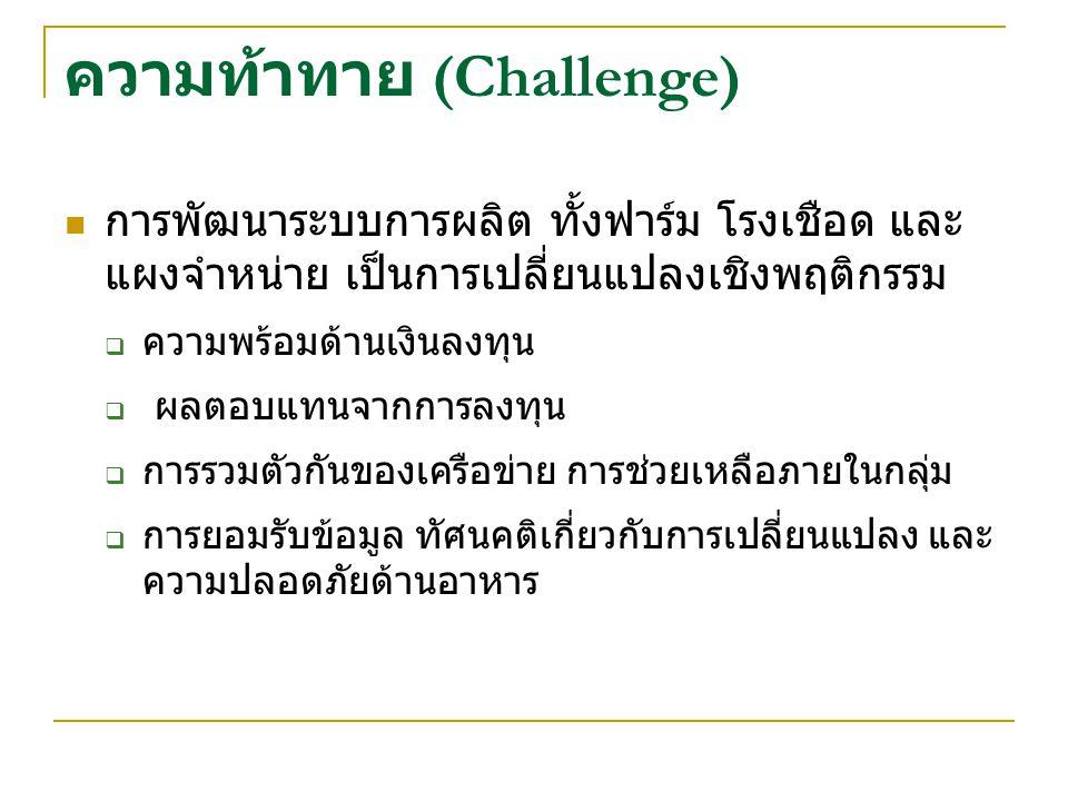 ความท้าทาย (Challenge)
