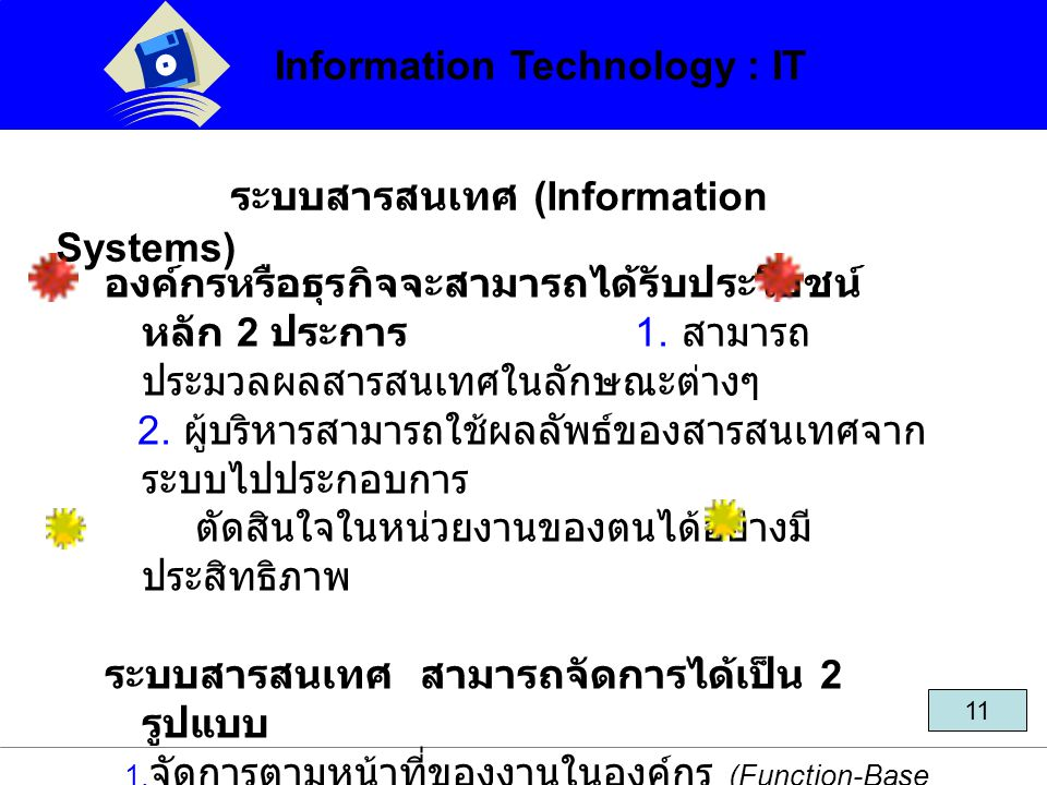 Information Technology : IT
