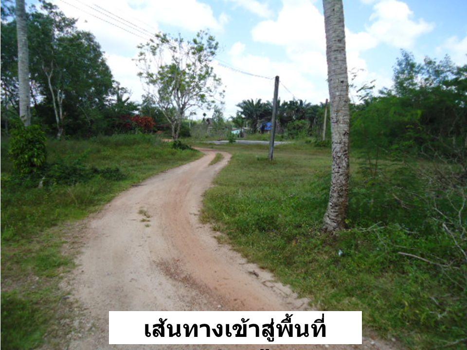 เส้นทางเข้าสู่พื้นที่ ตชด.๔๒