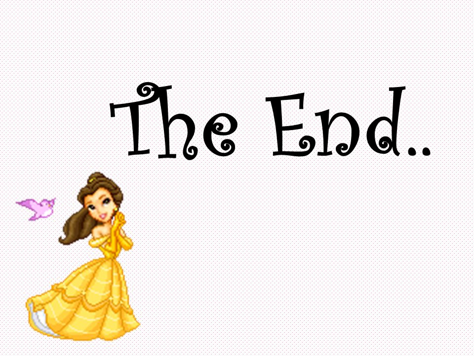 The End..