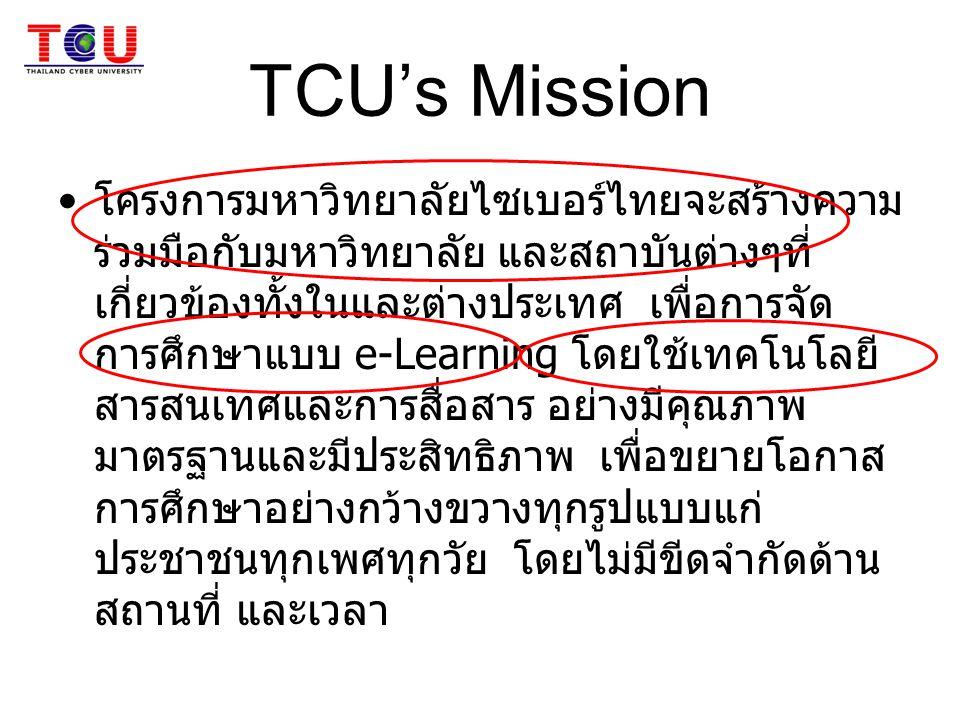 TCU's Mission