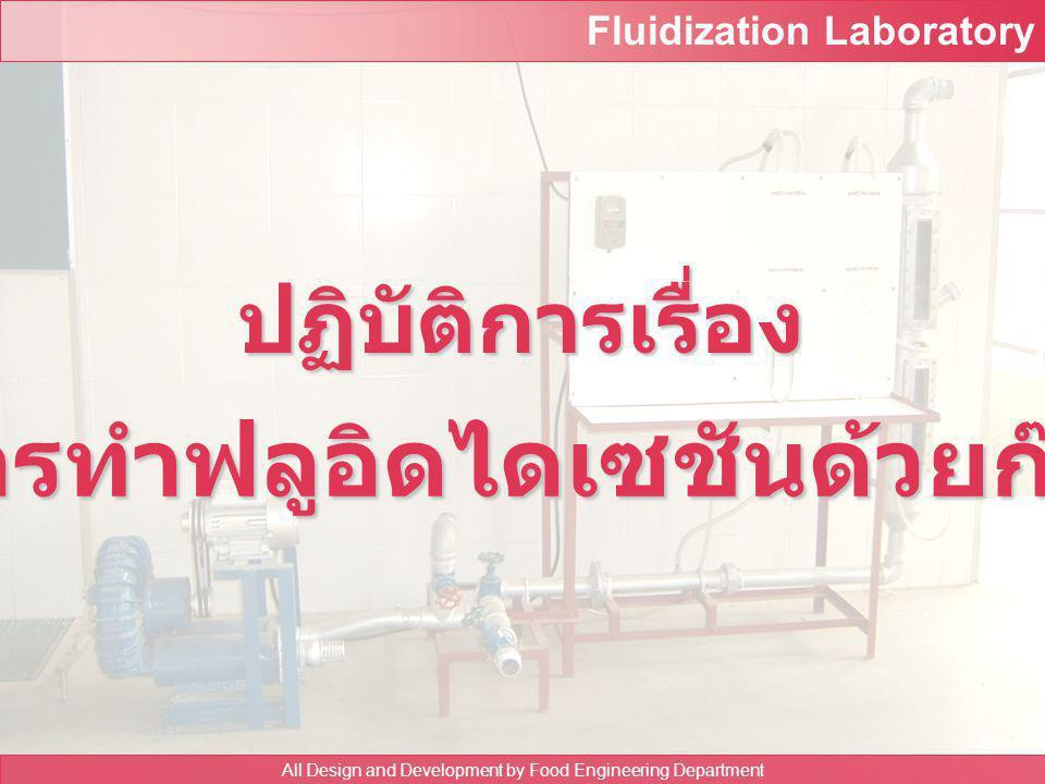 การทำฟลูอิดไดเซชันด้วยก๊าซ