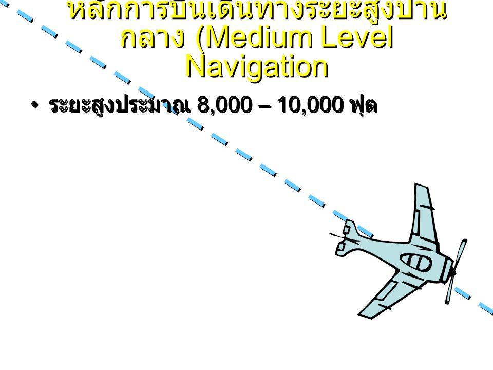 หลักการบินเดินทางระยะสูงปานกลาง (Medium Level Navigation