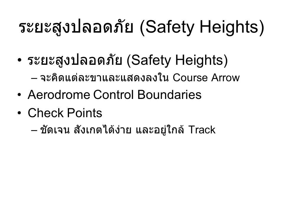 ระยะสูงปลอดภัย (Safety Heights)