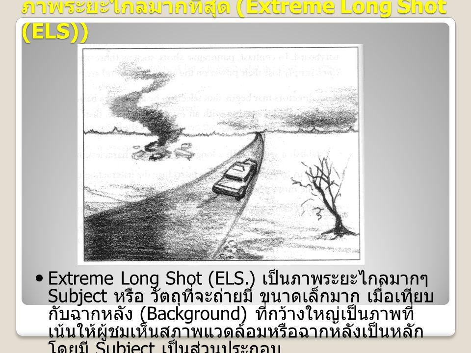ภาพระยะไกลมากที่สุด (Extreme Long Shot (ELS))