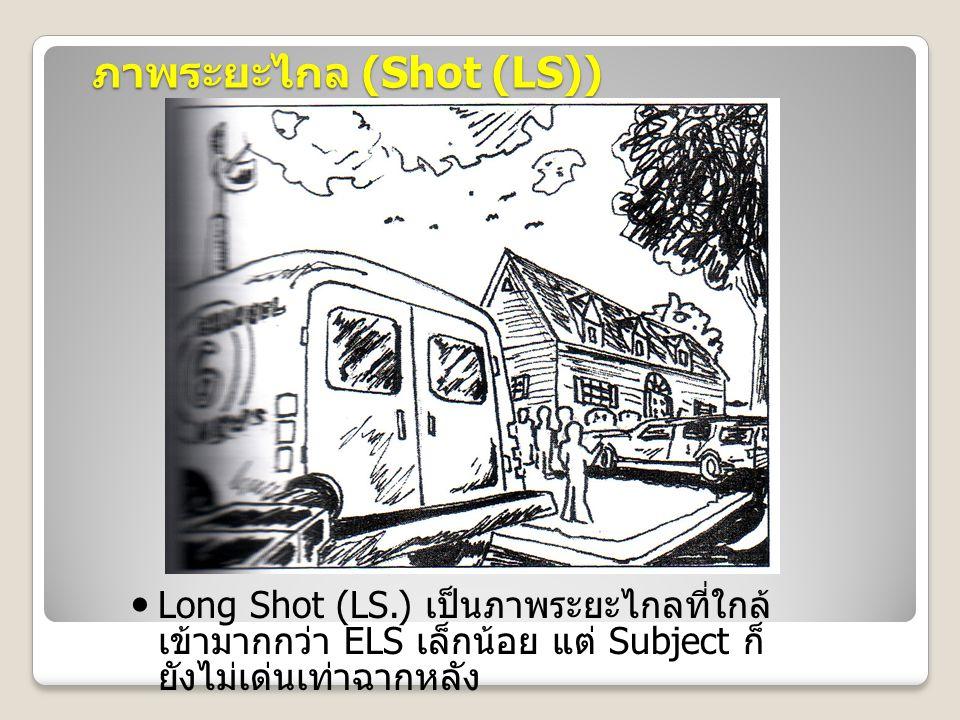 ภาพระยะไกล (Shot (LS))