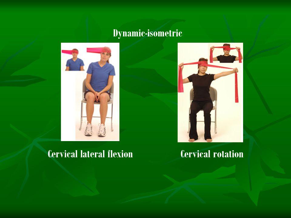 Cervical lateral flexion