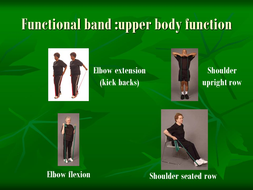 Functional band :upper body function