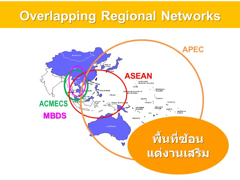 Overlapping Regional Networks