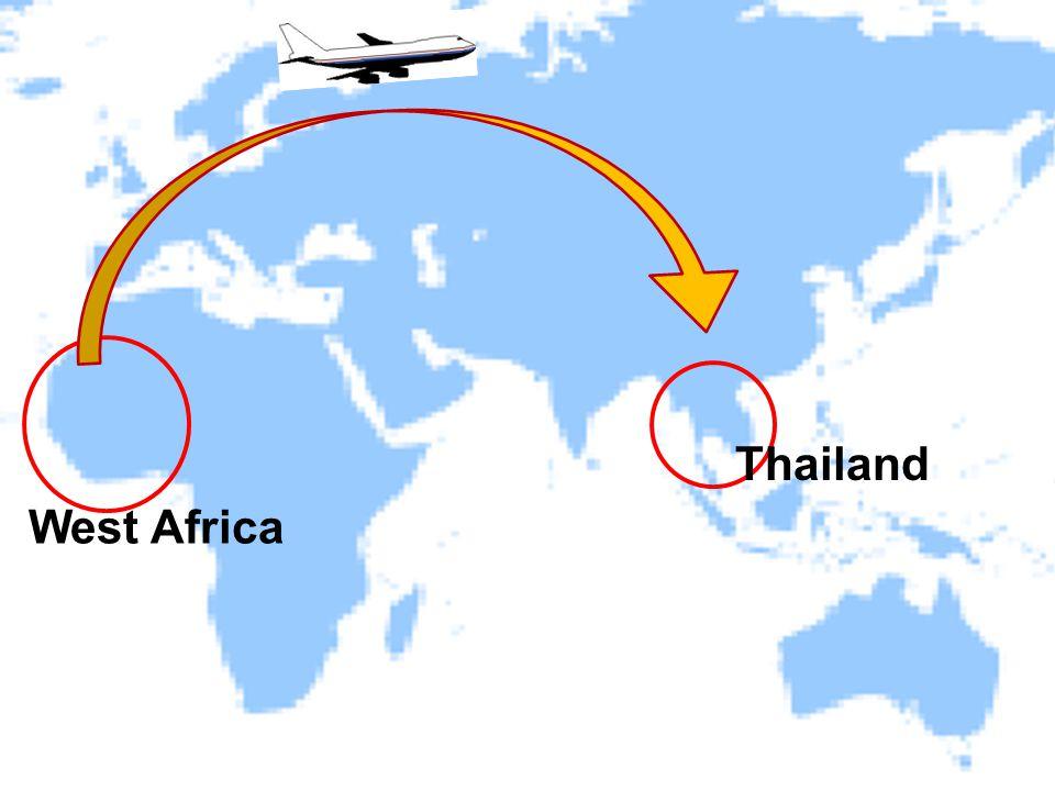 West Africa Thailand