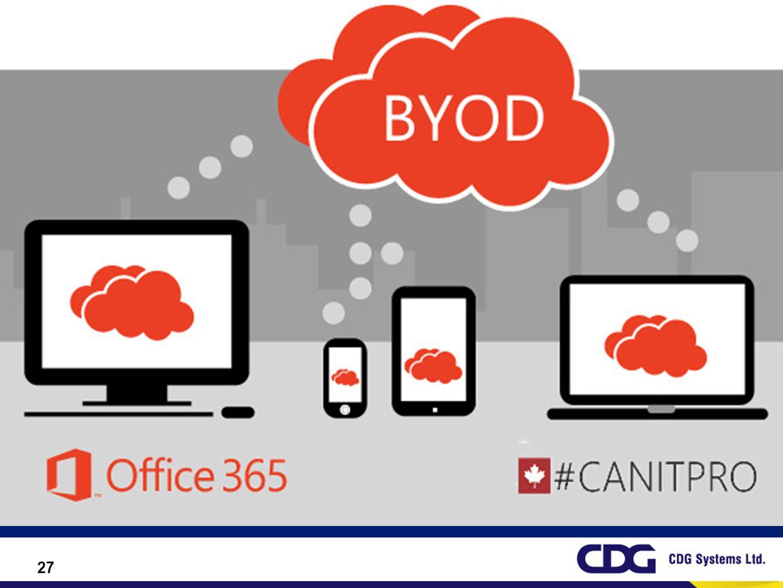 Bring Your Own Device (BYOD) (แปลตามอักษร: นำอุปกรณ์ของคุณมาเอง )
