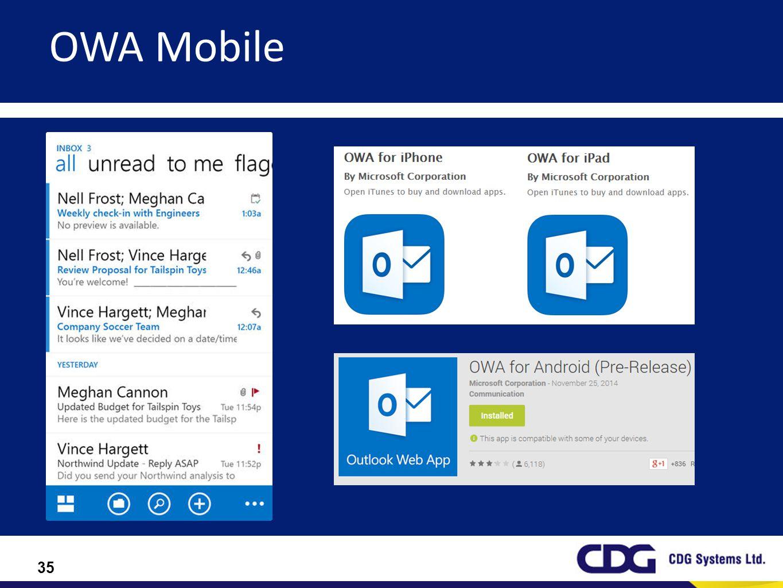 OWA Mobile