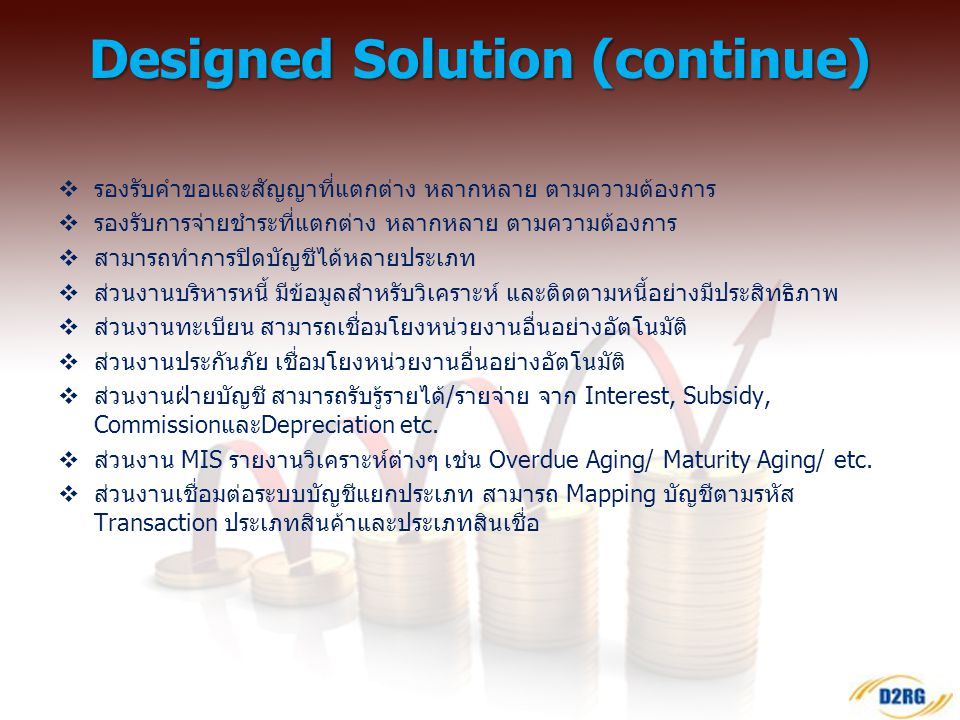 Designed Solution (continue)