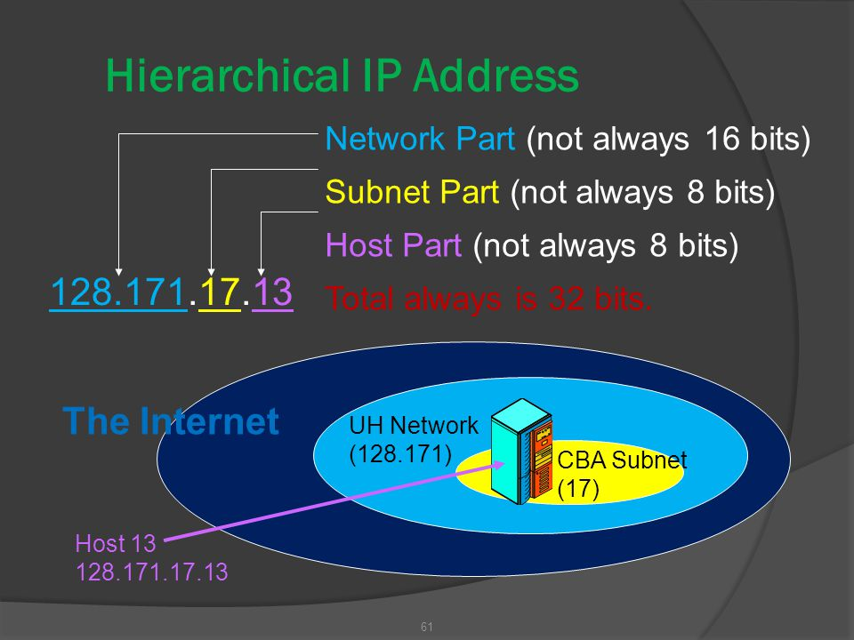 Hierarchical IP Address