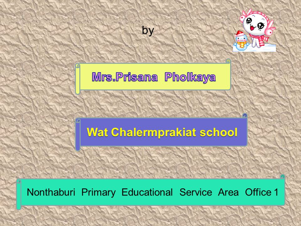 Wat Chalermprakiat school