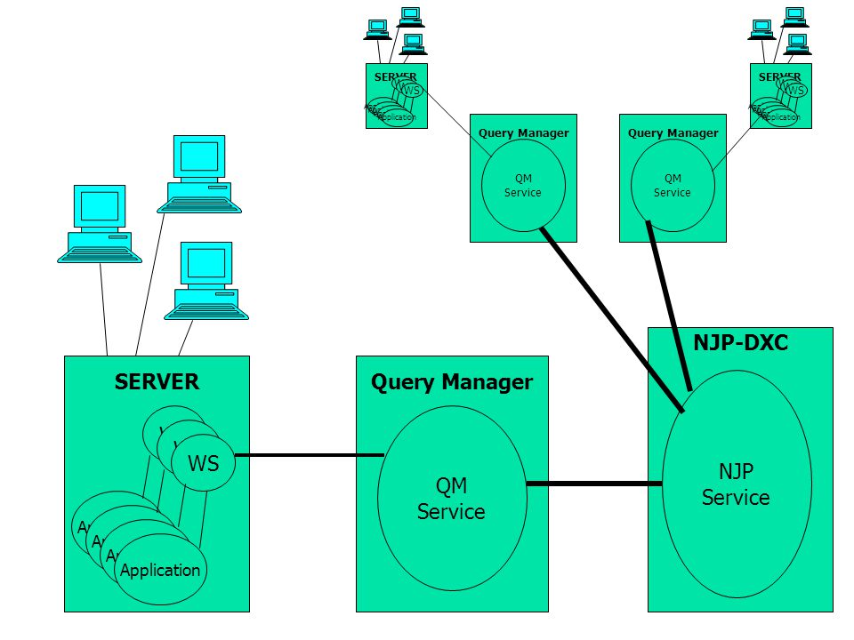 NJP-DXC SERVER Query Manager