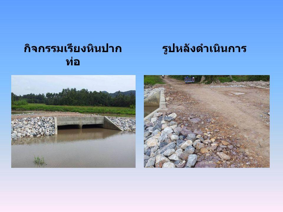 กิจกรรมเรียงหินปากท่อ