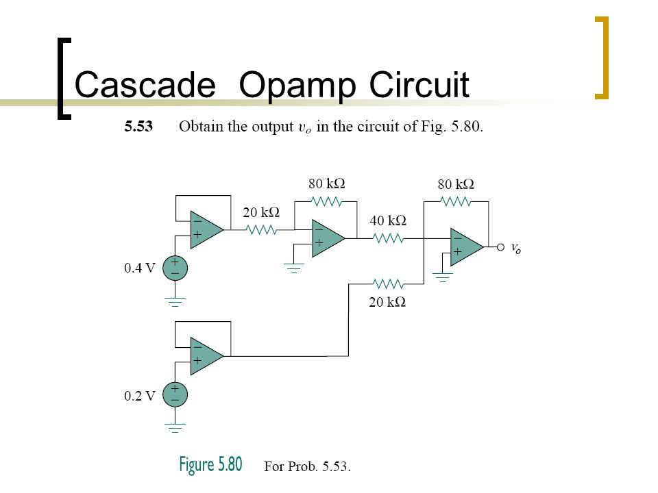 Cascade Opamp Circuit