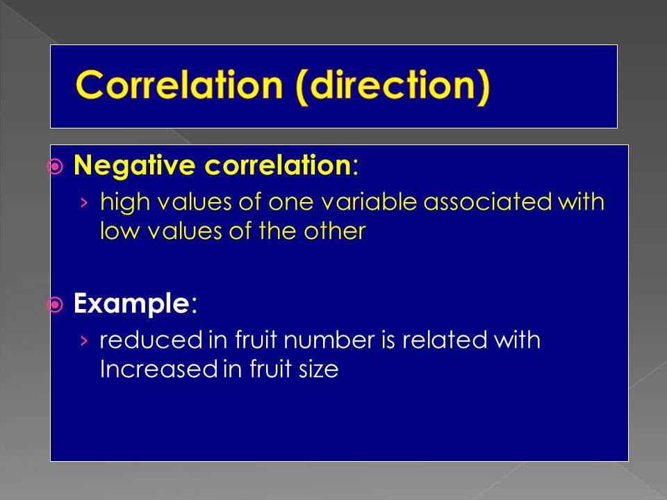 Correlation (direction)