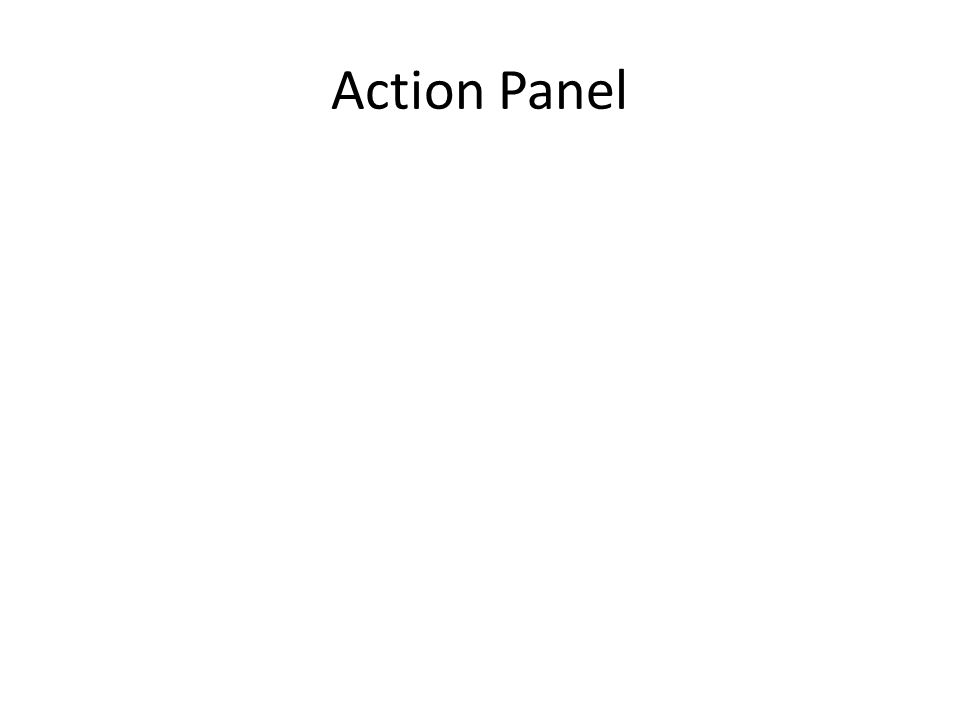 Action Panel