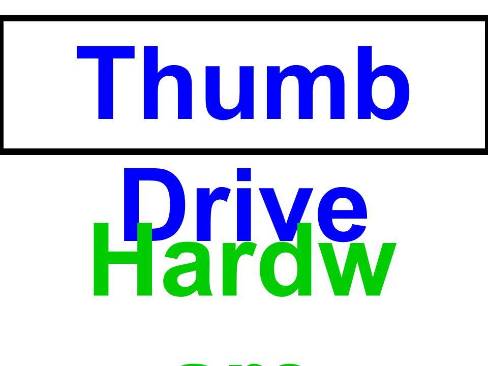 Thumb Drive Hardware