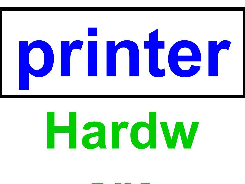 printer Hardware
