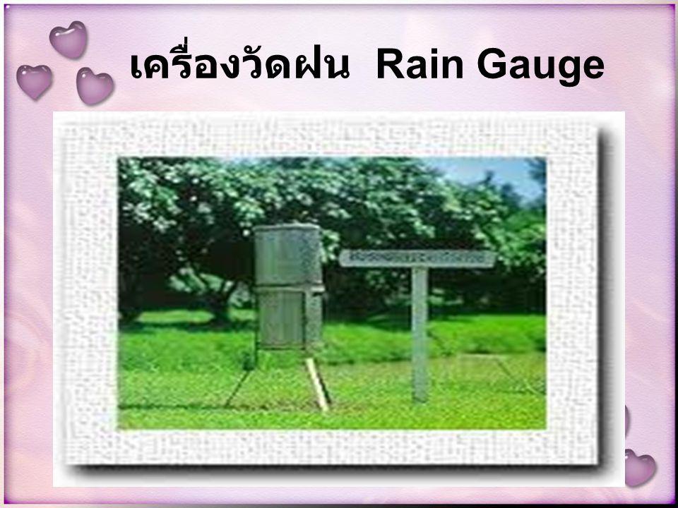 เครื่องวัดฝน Rain Gauge