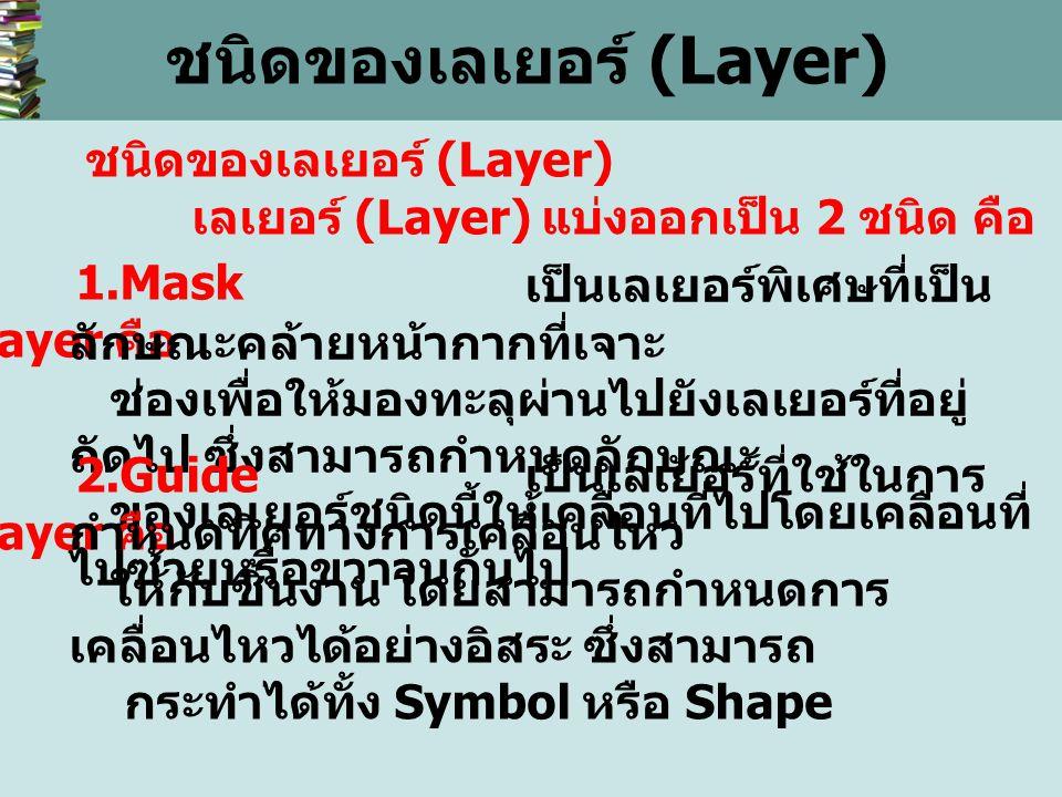 ชนิดของเลเยอร์ (Layer)