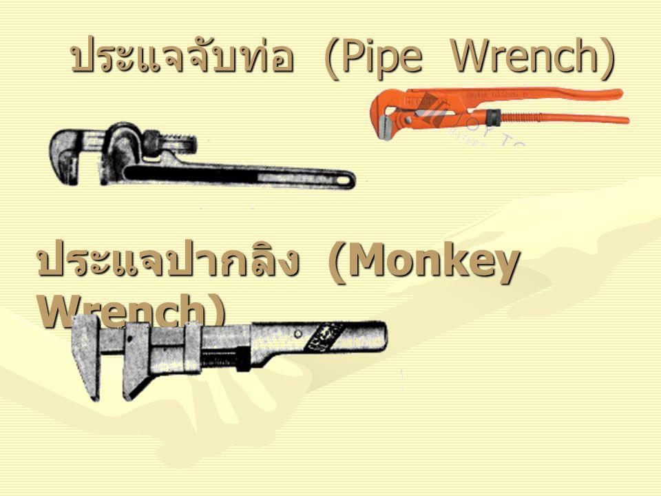 ประแจจับท่อ (Pipe Wrench)