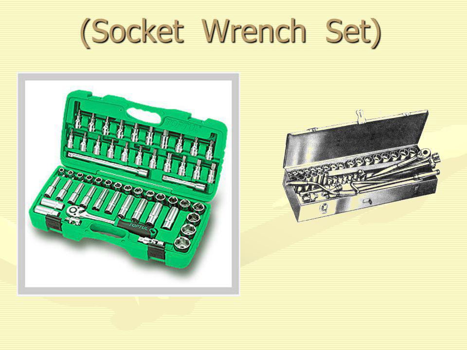 (Socket Wrench Set)