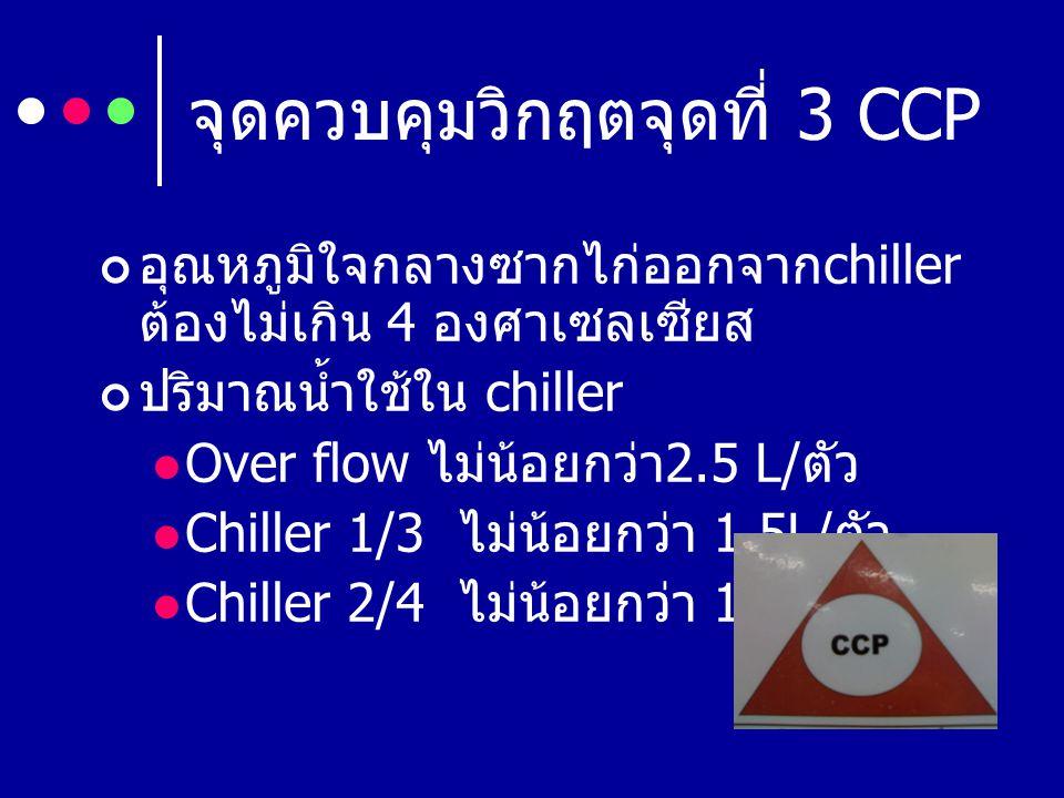จุดควบคุมวิกฤตจุดที่ 3 CCP