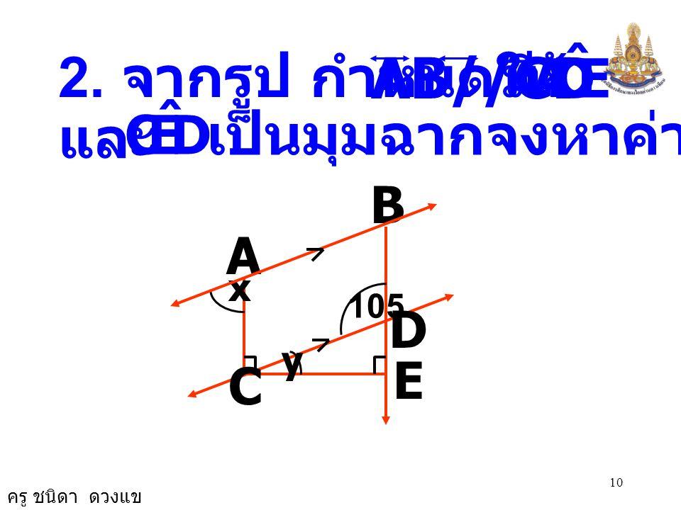เป็นมุมฉากจงหาค่า x และ y