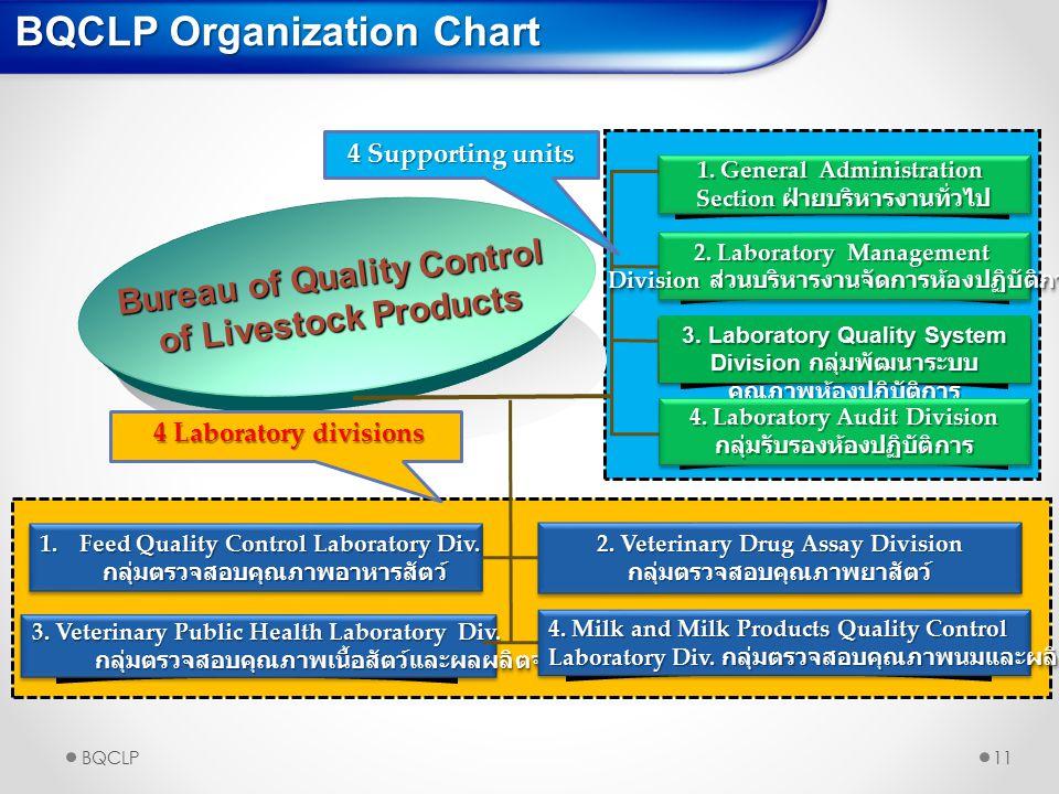 BQCLP Organization Chart