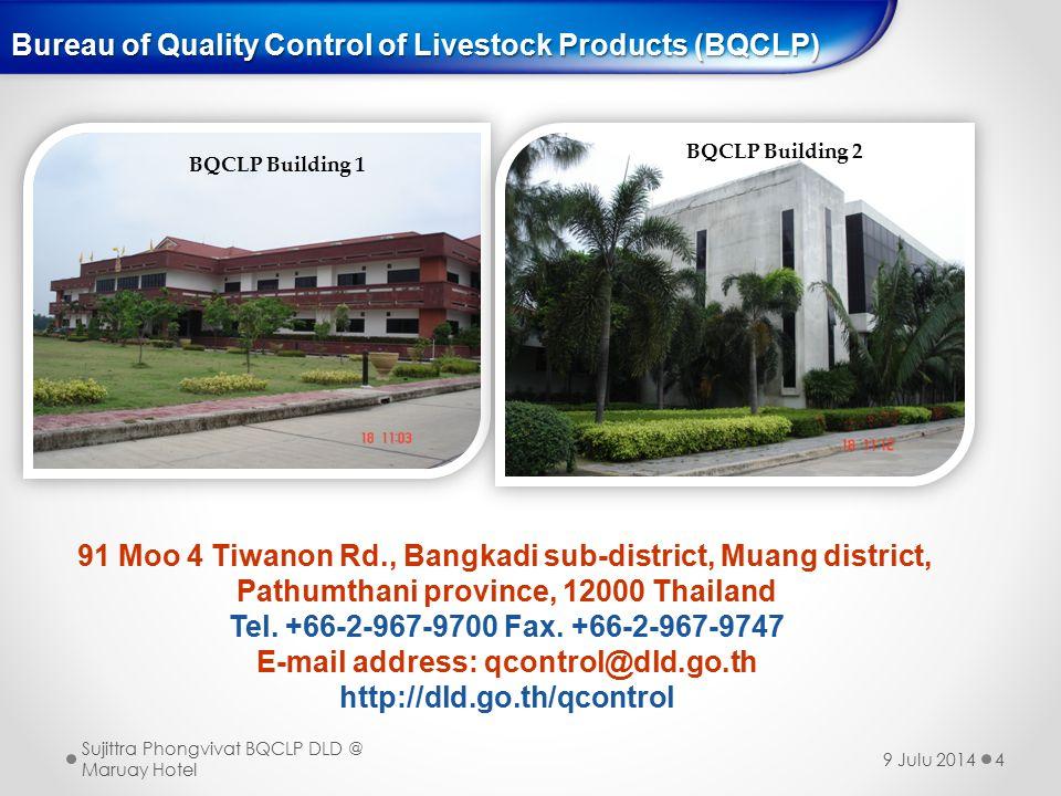 Bureau of Quality Control of Livestock Products (BQCLP)