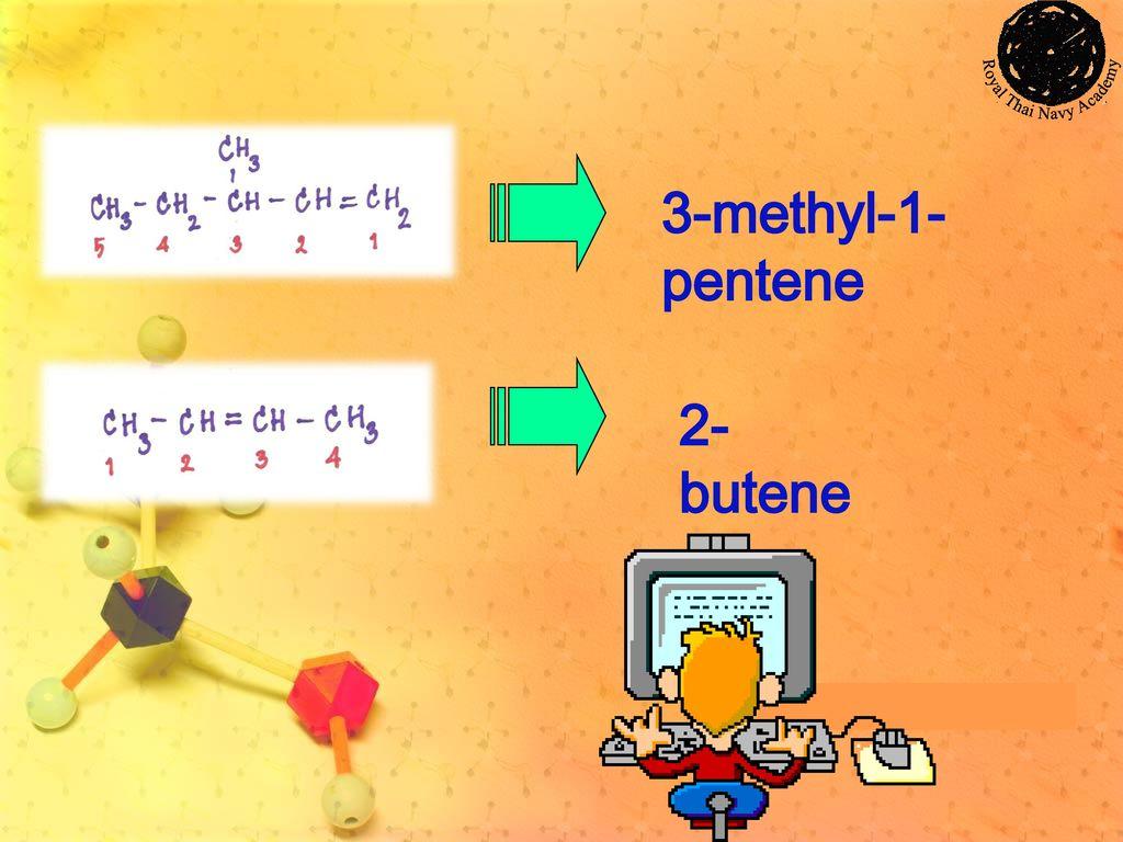 3-methyl-1-pentene 2-butene