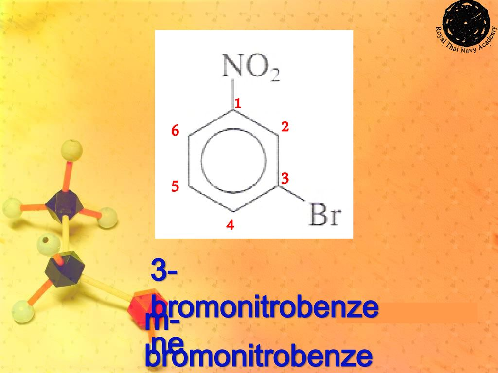 1 2 3 4 5 6 3-bromonitrobenzene m-bromonitrobenzene
