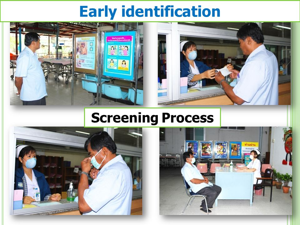 Early identification Screening Process