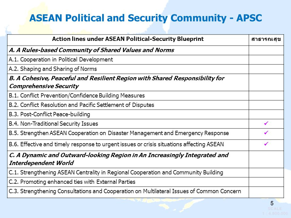 ASEAN Political and Security Community - APSC