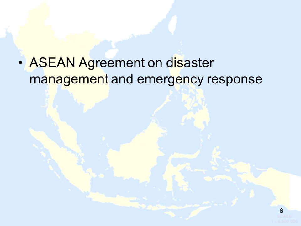 ASEAN Agreement on disaster management and emergency response