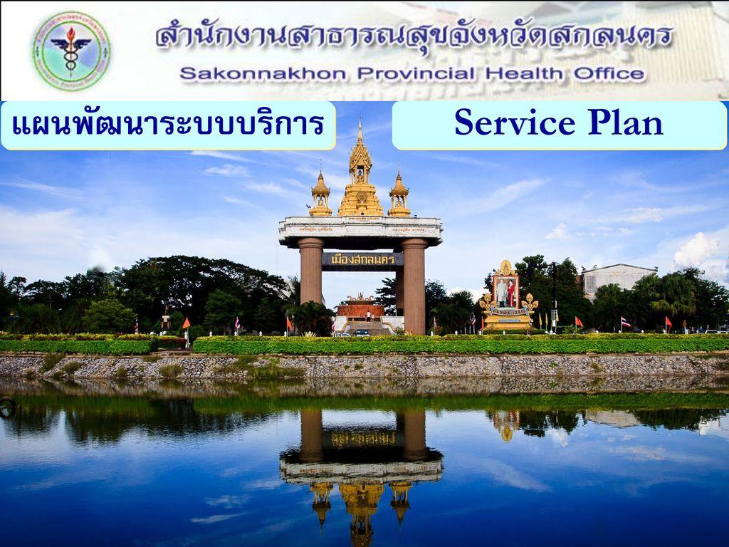 แผนพัฒนาระบบบริการ Service Plan